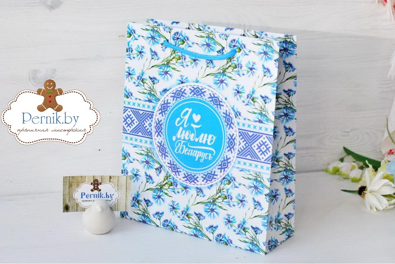 Пакет для подарков Васильки