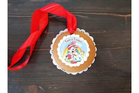Пряничная медаль 1 раз в 1 класс