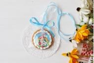 Пряничная медаль Ура, каникулы! с Буратино