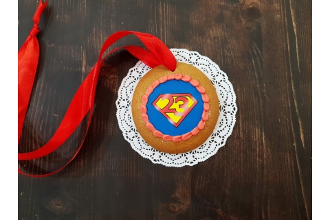 Пряничная медаль Super Man