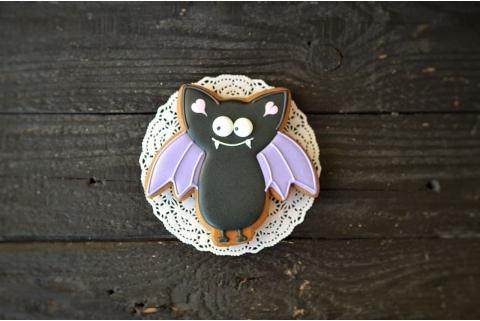 Пряник летучая мышка